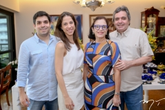 Fernando Laprovitera, Natercia Saboya, Elusa e Totonho Laprovitera