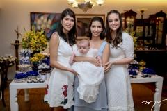 Flavia, Guilherme, Carla e Lara Laprovitera