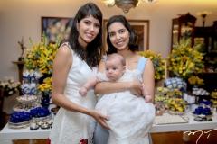 Flavia, Guilherme e Carla Laprovitera