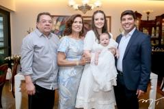 Gera e Marcia Texeira, Lara, Guilherme e Geraldo Laprovitera