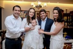 André, Lara, Guilherme,e Geraldo Laprovitera e Raquel Carneiro