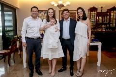 André, Lara, Guilherme e Geraldo Laprovitera e Raquel Carneiro