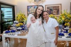 Lara e Guilherme Laprovitera e Dorinha Gomes
