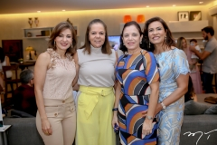 Luisa Machado,Fernanda e Elusa Laprovitera e Marcia Texeira