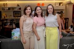 Luisa Machado,Ligia e Fernanda Laprovitera