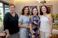 Magda Melo, Marcia Texeira,Elusa Laprovitera e Ediane Carneiro