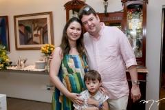 Mariana,Raul e Raul Carneiro