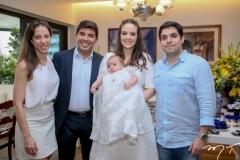 Natercia Saboya,Andre, Lara, Guilherme e Fernando Laprovitera