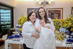 Solange Braw, Lara e Guilherme Laprovitera