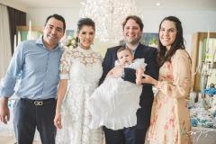 André Laprovitera, Flavia, Henrique e Daniel Simões e Larissa Laprovitera