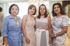 Elusa Laprovitera, Luiza Alice e Márcia Teixeira