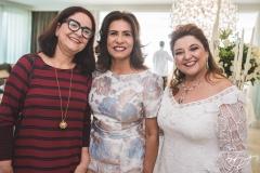 Eliane Carneiro, Márcia Teixeira e Jaqueline Simões