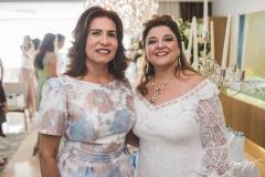 Márcia Teixeira e Jaqueline Simões