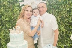 Andréa, Lucas e Raimundo Delfino