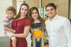 Arthur Delfino, Bruna Delfino, Bárbara Delfino e Fábio Gosson