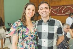 Carol e Rômulo Almeida