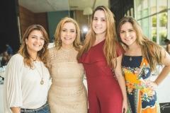 Cibelly, Andréa, Bruna e Bárbara Delfino