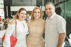 Danielle Pinheiro, Andréa Delfino e Valdísio Pinheiro