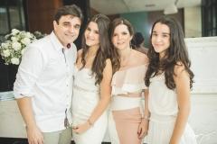 Delfino Neto, Eduarda, Suyane e Letícia Delfino