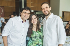 Delfino Neto, Sarah Lyra e Rodrigo Schuler