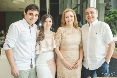 Delfino Neto, Suyane Delfino, Andréa e Raimundo Delfino