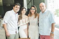 Delfino Neto, Suyane Delfino, Márcia e Fernando Travessoni