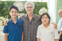 Eduardo Demétrio, Jauro Martins e Henrique Demétrio