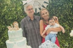 Jauro Martins, Diana Martins e Lucas Delfino