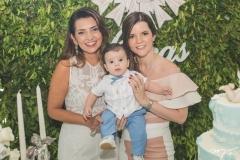 Márcia Travessoni, Lucas Delfino e Suyane Delfino