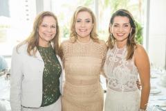 Rose Batista, Andréa Delfino e Márcia Travessoni
