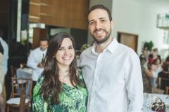Sarah Lyra e Rodrigo Schuler
