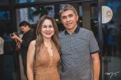 Alda Linhares e Marcelo Lima