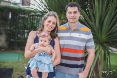 Carol, Maria e Antonio Harter