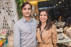 David Macedo e Alessandra Adjafre