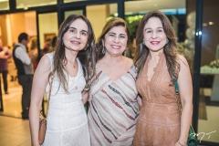 Fabiola Linhares, Lucitania Feijão e Alda Linhares