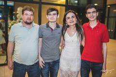 Guilherme Couto, Arthur Cardoso, Fabiola Linhares e Antonio Davi