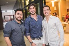 Júlio e Wesley Monteiro e Roberto Briand