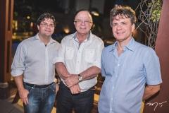 Mauro Cavalcante, Roberto Briand e André Jucá