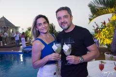 Alessandra Frazão e Fernando Muniz
