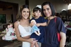 Clarissa Aguiar, Sara Porto e Ana Pontes