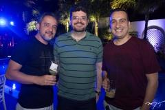 Fernando Muniz, Everton Castro e Yure Aragão