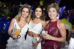 Germana Cavalcante, Clarissa Aguiar e Marih Nascer