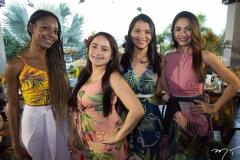 Léa Ramos, Rany Barbosa, Gabriela Andrade e Camila Aquino