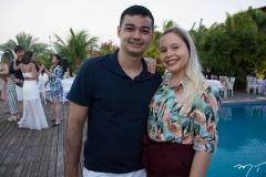 Lúcio Flávio e Janaina Guia