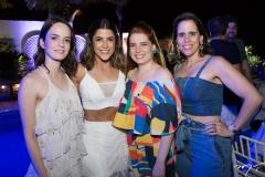 Natália Saboia, Clarissa Aguiar, Laura Brasil e Renata Bastos