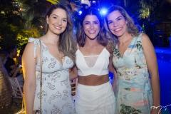Patricia Oliveira, Clarissa Aguiar e Camila Marcussi