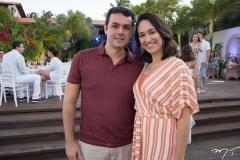 Pedro Lira e Jéssica Paiva