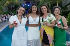 Renata Lucas, Clarissa Aguiar, Neusa Veloso e Fabíola Soares