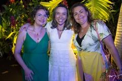Renata Lucas, Neusa Velosso e Fabíola Soares