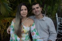 Roberta Medeiros e Carlos Eduardo